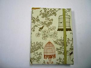 Изготовление блокнота с нуля в тканевой обложке | Ярмарка Мастеров - ручная работа, handmade