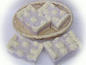 Взбтое мыло с нуля Тортик. | Ярмарка Мастеров - ручная работа, handmade
