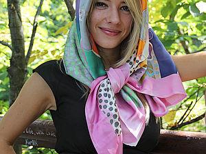 Мастер класс  профессионального батика (роспись на натуральном шелке) | Ярмарка Мастеров - ручная работа, handmade
