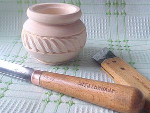 Солонка со сложными листочками (резьба по дереву). Ярмарка Мастеров - ручная работа, handmade.