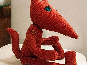 Создаем вельветового лисёнка. Ярмарка Мастеров - ручная работа, handmade.