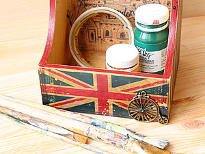 Мастер-класс от «Base of Art»: коробка для специй «London». Ярмарка Мастеров - ручная работа, handmade.