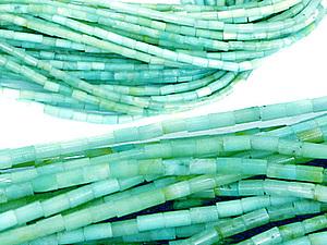 Восхитительные бусины из бирюзы, амазонита, турмалина и аметиста! | Ярмарка Мастеров - ручная работа, handmade