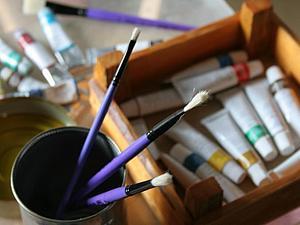 Ах, как здорово вспомнить запах масляных красок!!! | Ярмарка Мастеров - ручная работа, handmade