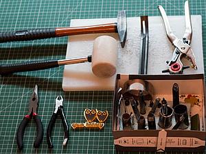 Инструменты для работы с натуральной кожей. Ярмарка Мастеров - ручная работа, handmade.
