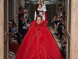 Великолепная «готическая» коллекция Valentino haute-couture осень-зима 2016-2017. Часть 1. Ярмарка Мастеров - ручная работа, handmade.