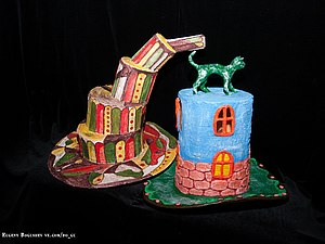 "МК ""Карнавальные шляпы из папье-маше"". Ярмарка Мастеров - ручная работа, handmade."