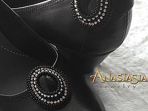 Создаем красивые клипсы для туфель. Ярмарка Мастеров - ручная работа, handmade.