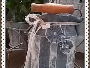 Как сшить джинсовый наряд для бидончика. Ярмарка Мастеров - ручная работа, handmade.