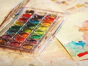 Весенняя акварель | Ярмарка Мастеров - ручная работа, handmade