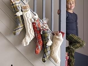 ИДЕИ!! Новогодние чулки и адвент-календари! ) | Ярмарка Мастеров - ручная работа, handmade