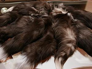 Хвостики лисы в ДАР! | Ярмарка Мастеров - ручная работа, handmade