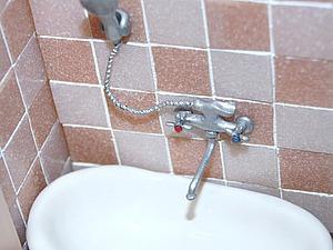 Видео мастер-класс: делаем кран и душ в кукольную ванную. Ярмарка Мастеров - ручная работа, handmade.