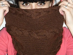 Аукцион на шарф-снуд! | Ярмарка Мастеров - ручная работа, handmade