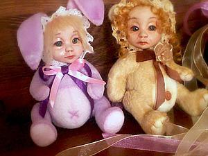 Создаем туловище для кукло-мишки в стиле «тедди-долл» | Ярмарка Мастеров - ручная работа, handmade