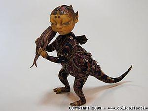 Сказочные существа из пластика и декоративных тканей | Ярмарка Мастеров - ручная работа, handmade