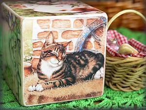 Любители кошачьих - это точно для вас!   Ярмарка Мастеров - ручная работа, handmade