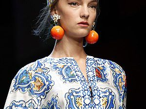 Детали коллекции Dolce&Gabbana весна-лето 2016 ready-to-wear. Часть 2. Ярмарка Мастеров - ручная работа, handmade.