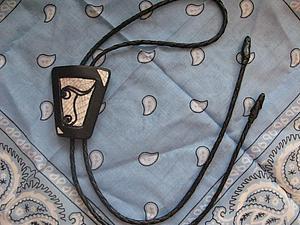 Плетем кожаный шнур для галстука-боло и не только. Ярмарка Мастеров - ручная работа, handmade.