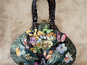 Новая сумочка с бабочками | Ярмарка Мастеров - ручная работа, handmade