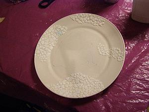 Мастер-класс: декор тарелки с использованием яичного кракле. Ярмарка Мастеров - ручная работа, handmade.