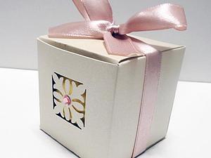 Делаем подарочную коробочку для ванной бомбочки. Ярмарка Мастеров - ручная работа, handmade.