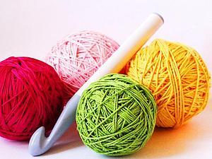 Вязание крючком шапочки или носочков!   Ярмарка Мастеров - ручная работа, handmade