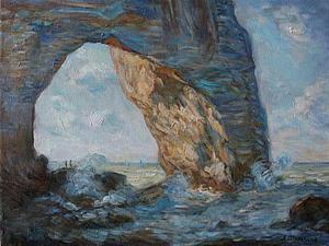 Мастер-класс «Импрессионизм в живописи». Копируем К. Монэ. Ярмарка Мастеров - ручная работа, handmade.