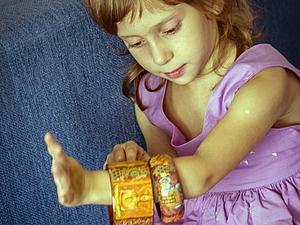 """Браслет """"Оранжевый Будда"""". Ярмарка Мастеров - ручная работа, handmade."""