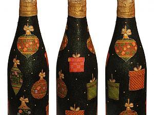 Предновогодняя акция Все бутылки по 1100.Успей приобрести эксклюзив | Ярмарка Мастеров - ручная работа, handmade