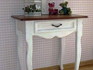 Видео мастер-класс: декор столика с помощью меловой винтажной краски DailyArt. Ярмарка Мастеров - ручная работа, handmade.