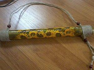 Если нужен дождь, обратитесь к Роду. Изготовление рейнстика. Ярмарка Мастеров - ручная работа, handmade.