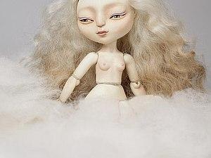 Шарнирная кукла из литьевого пластика Flumo   Ярмарка Мастеров - ручная работа, handmade