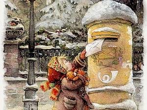 Винтажные новогодние и рождественские открытки. | Ярмарка Мастеров - ручная работа, handmade