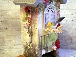 Чайный домик | Ярмарка Мастеров - ручная работа, handmade
