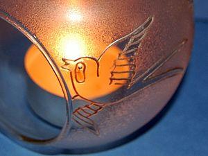 Декор стекла пастой Frost. Фростирование. Ярмарка Мастеров - ручная работа, handmade.