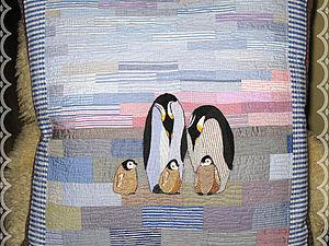 Пингвинья семейка | Ярмарка Мастеров - ручная работа, handmade