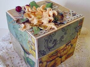 Мастер-класс по скрапбукингу: Magic-Box. Ярмарка Мастеров - ручная работа, handmade.
