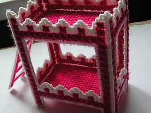 Делаем двухъярусную кроватку для кукол. Ярмарка Мастеров - ручная работа, handmade.