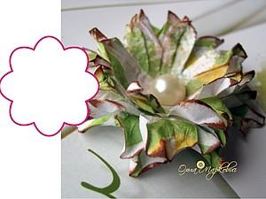 Мастер-класс по изготовления цветка из бумаги | Ярмарка Мастеров - ручная работа, handmade