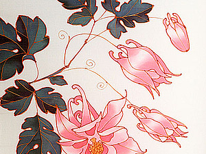 Роспись шелка, холодный батик | Ярмарка Мастеров - ручная работа, handmade