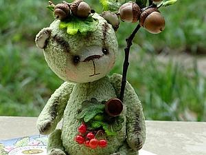 Тедди Желудёк из лесной коллекции | Ярмарка Мастеров - ручная работа, handmade