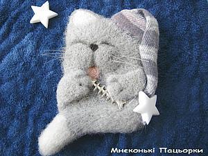 Котенок СонькО   Ярмарка Мастеров - ручная работа, handmade
