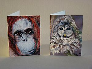 Новые мини-открыточки!   Ярмарка Мастеров - ручная работа, handmade