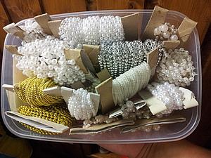 Катушка для декоративных бус, тесьмы | Ярмарка Мастеров - ручная работа, handmade