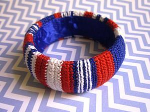 Делаем яркий летний браслет в морском стиле. Ярмарка Мастеров - ручная работа, handmade.