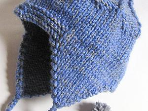 Вяжем спицами шапку-шлем «Витязь» для мальчика. Ярмарка Мастеров - ручная работа, handmade.
