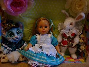 ... и снова та самая Алиса... или подарок ко дню рождения | Ярмарка Мастеров - ручная работа, handmade
