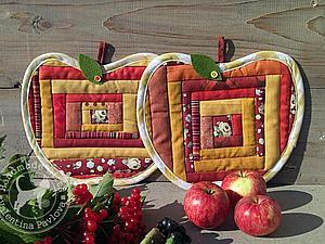 А давайте сошьём яблочки! | Ярмарка Мастеров - ручная работа, handmade