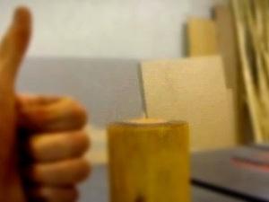 Видео мастер-класс: изготовление подсвечника из дерева. Ярмарка Мастеров - ручная работа, handmade.
